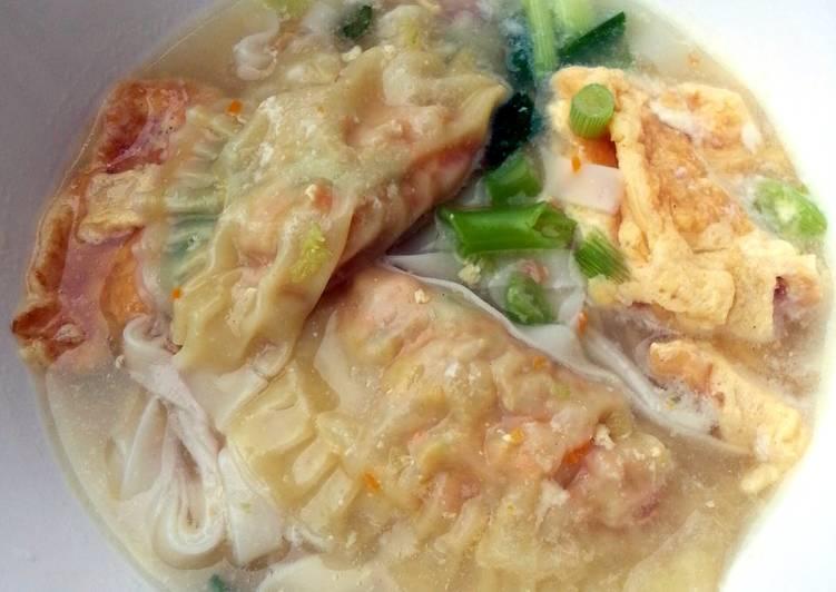 Dumpling Noodle Soup