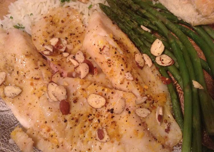 Baked Tilapia in a Brown Butter Sauce