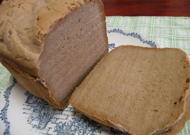 100% Rice Flour Sandwich Bread (Brown Sugar) with the Bread Maker
