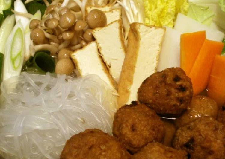 Eat These 14 Superfoods to Go Green for Great Health Warming Hot Pot with Deep Fried Meatballs and Chinese Sauce