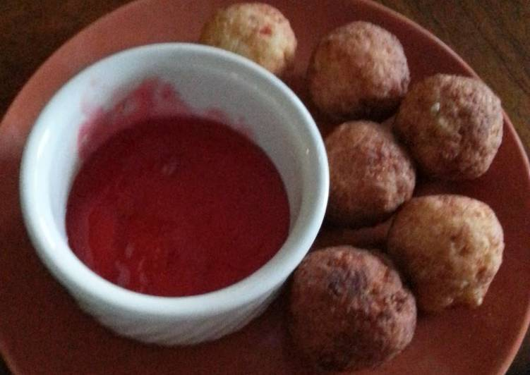 Steps to Prepare Speedy Conch fritters.