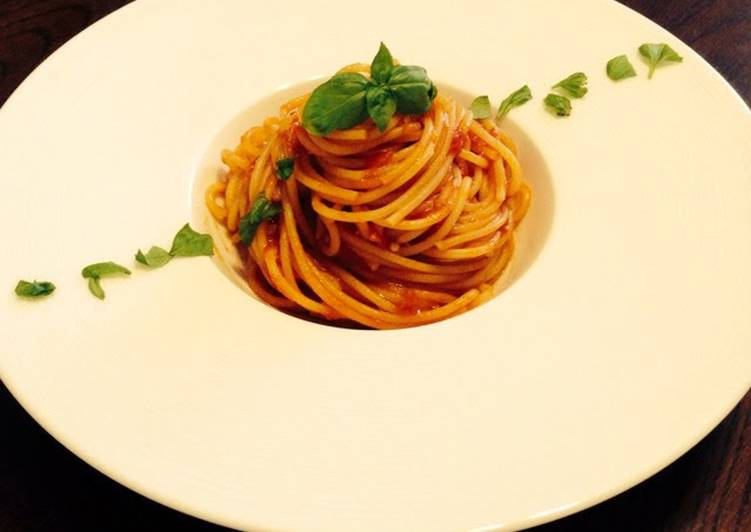Foolproof! Easy Tomato Pasta With 3 Key Points