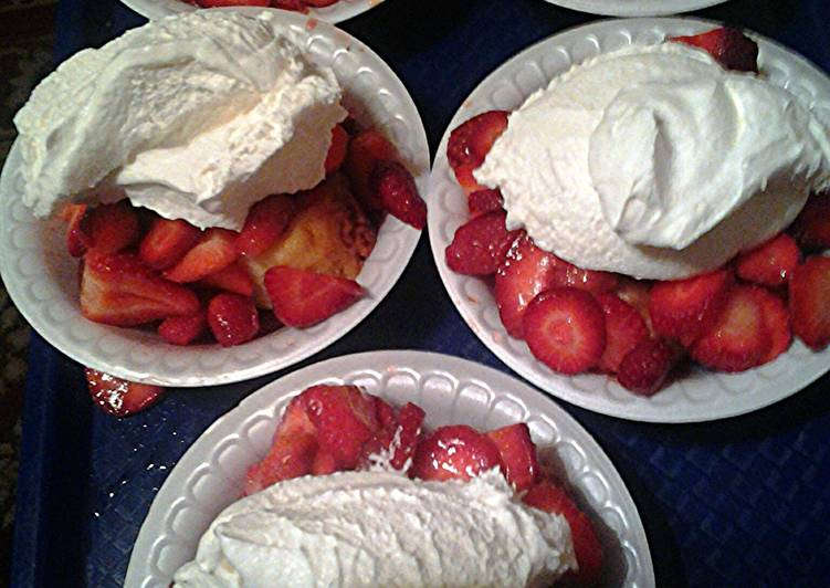 Simple Way to Make Super Quick Homemade strawberry shortcake easy