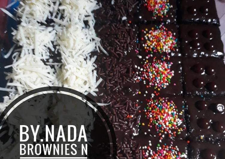 Resep Brownies Potong Resep Ny Liem Oleh Eki Uminya Nada Cookpad