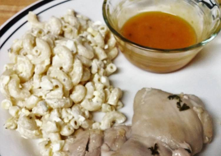 Easiest Way to Prepare Quick Beer Poached Chicken Thighs