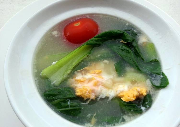 The Best Soft and Chewy Dinner Ideas Autumn Bak Choy And Egg Soup