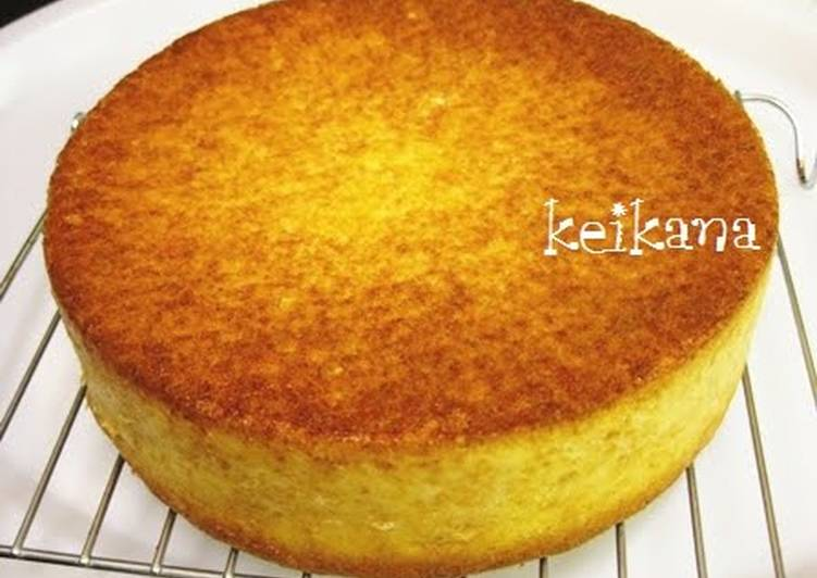 Easy Pancake Mix Sponge Cake