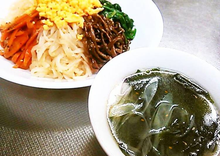 Recipe of Perfect Yakiniku Restaurant-Style Easy Wakame Seaweed Soup