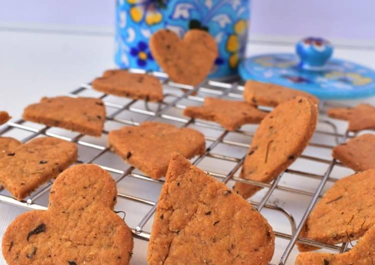 10 Minute Recipe of Homemade Spicy Atta Crackers