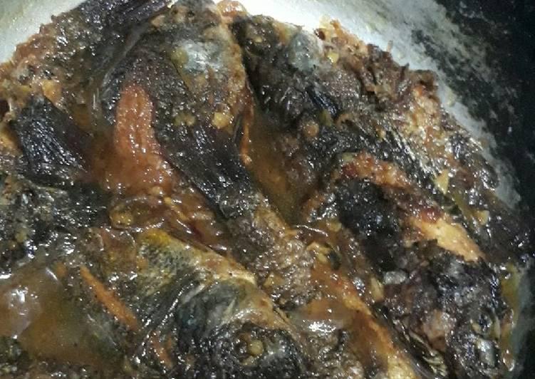 Semur ikan nila simple