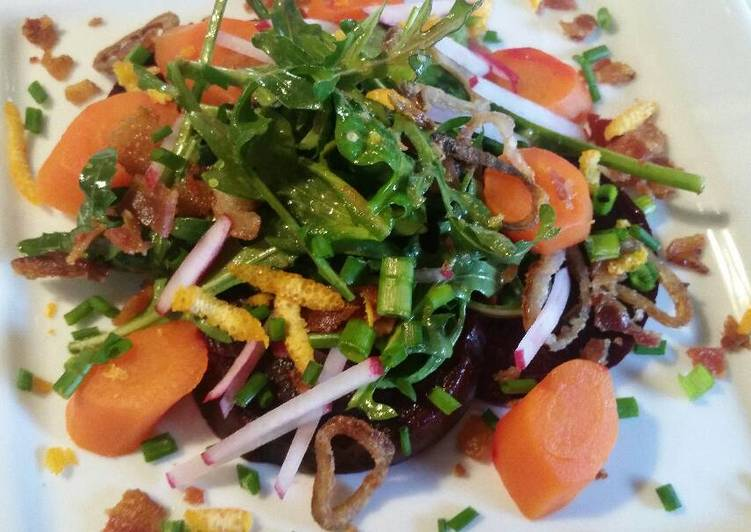 Beet & Carrot Salad, Some Foods That Are Helpful To Your Heart
