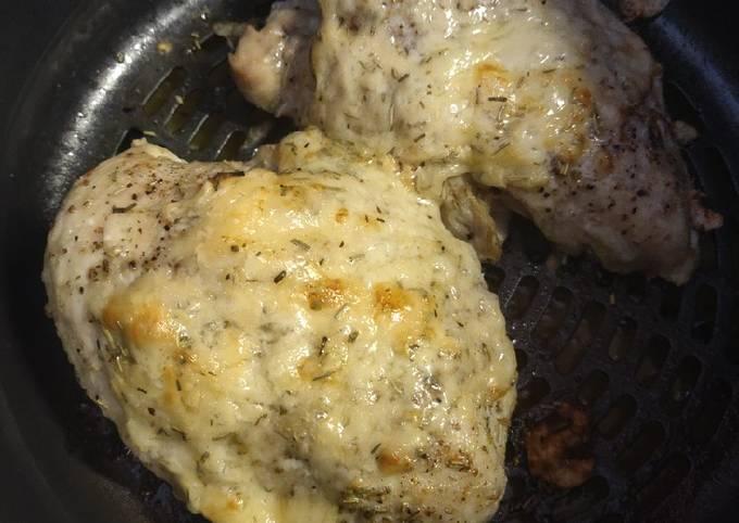 Foodi Herb Parmesan Chicken Breast