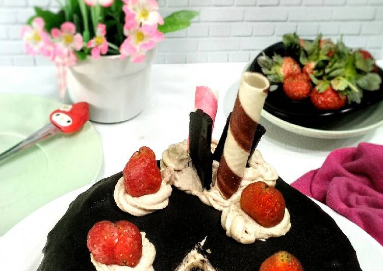 Resep Steamed Tart Marble Cake Paling Enak