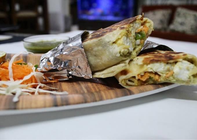 Recipe of Any-night-of-the-week Paneer Shawarma
