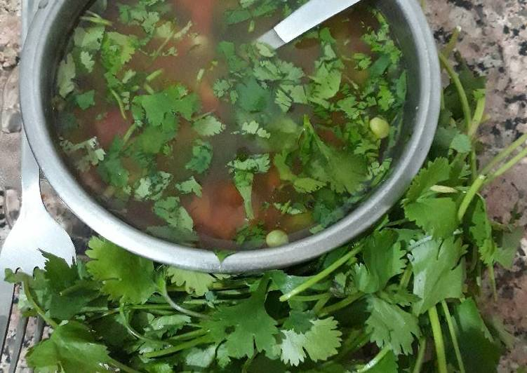Lemon Coriander Soup, Heart Friendly Foods You Need To Be Eating