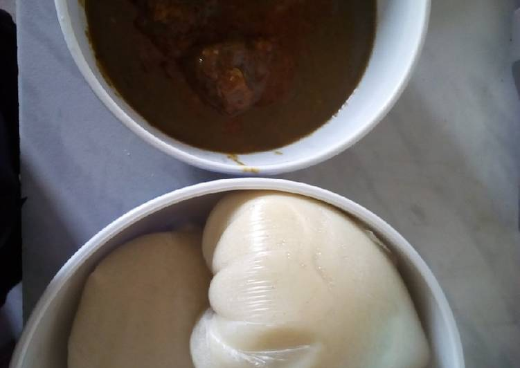 Your Health Can Be Affected By The Foods You Choose To Consume Tuwon semovita and miyan kuka