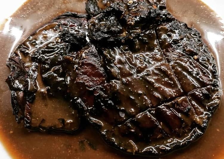 Ricetta Bistecche di funghi portobello