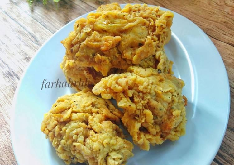 Resep Mudah Crispy Chicken (KFC KW & Super Kribo) Anti Ribet