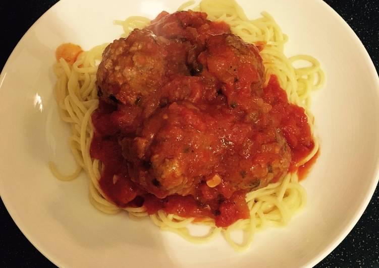 Authentic Italian Meatballs