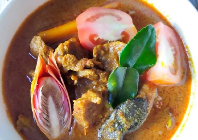 Asam Pedas Daging Tetel Ala Thai