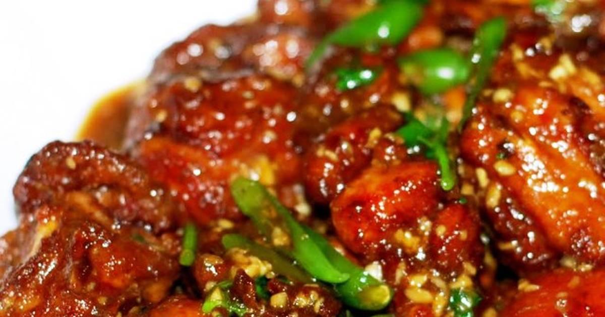 Chicken Chilli Dry Recipe By Pramitashrma Cookpad