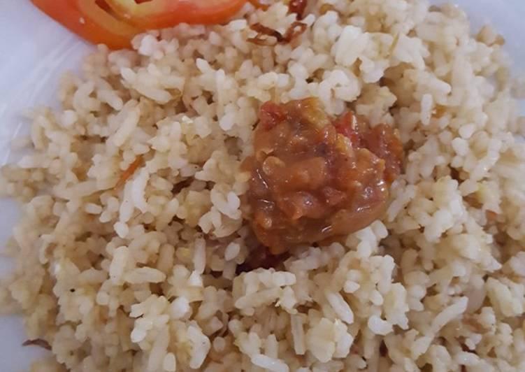 Resep Nasi goreng sederhana ala anak kost Terenak
