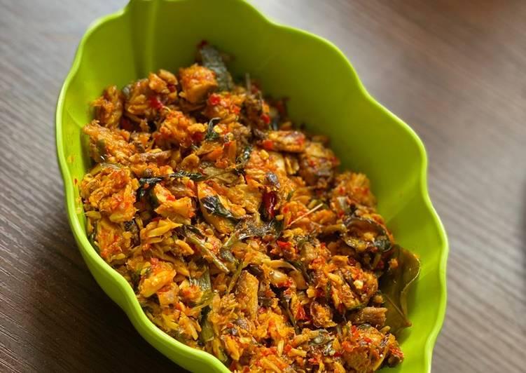 Tongkol suir pedas (ENAK banget) - cookandrecipe.com