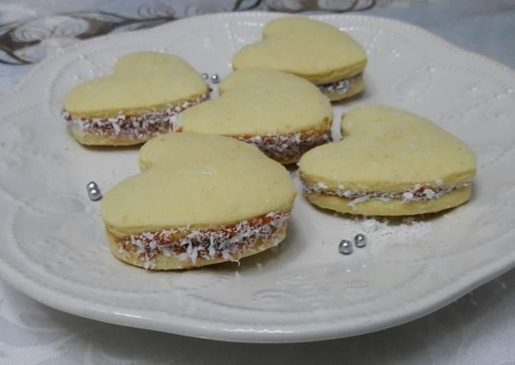Alfajores de Maicena Receta de Doris Jaime Cookpad