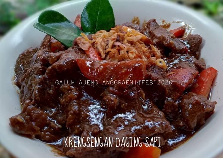 Krengsengan Daging Sapi Khas Surabaya