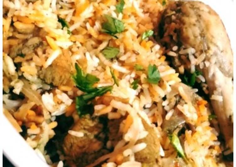 Hyderabadi biryani recipe