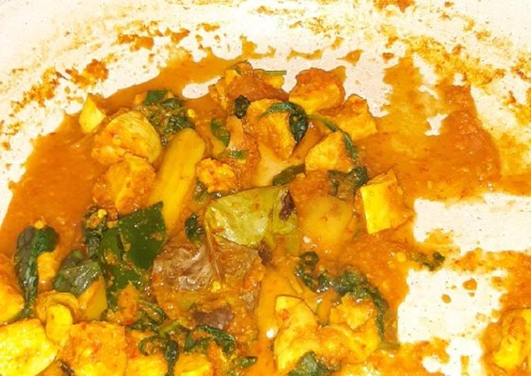 Resep Ayam rica kemangi (diet)
