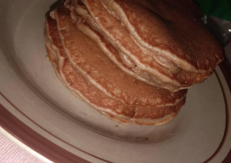 Pancake susu coklat