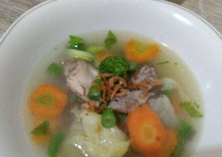 Sup Sayap Ayam foto resep utama