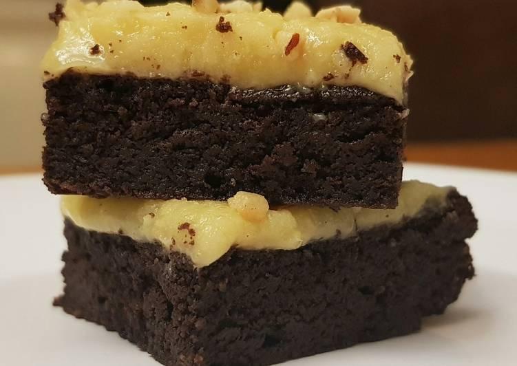 Keto Caramel Chocolate Brownies