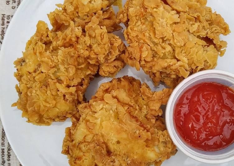 Resep Praktis Ayam goreng kriwil | ayam goreng KFC kw | ayam goreng tepung Tiada Duanya