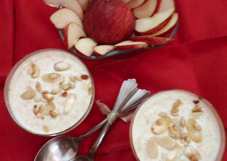 Steps to Make Award-winning Apple kheer