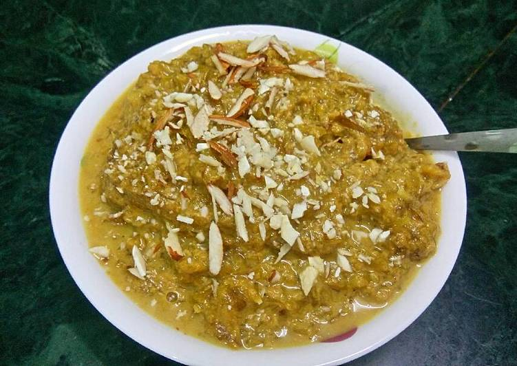 25 Minute Recipe of Blends Lauki halwa