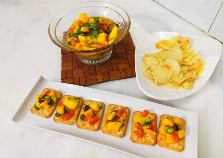 Steps to Make Speedy Fresh Mango Salsa