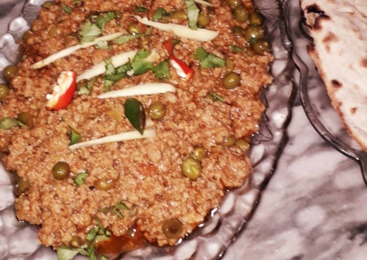 30 Minute How to Prepare Summer Mater keema