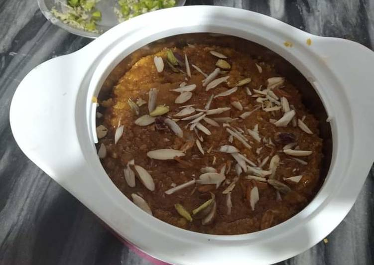 Recipe of Super Quick Homemade Moong dal halwa