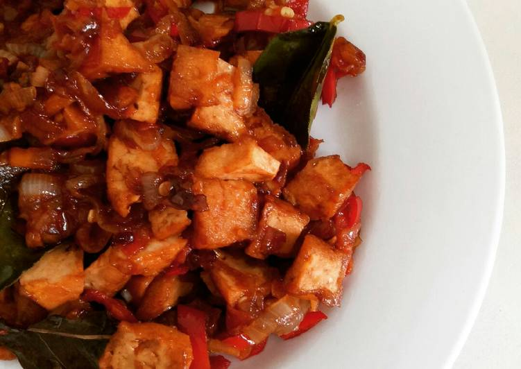 Tofu with Sweet Soy Sauce *Vegan