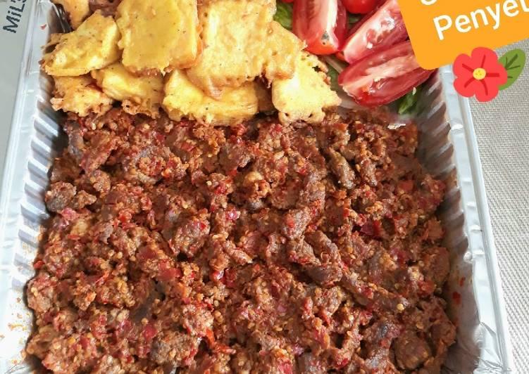 Daging Sambel Penyet