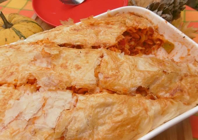 Easiest Way to Prepare Tasty Pasta Pie (Makaronopita)