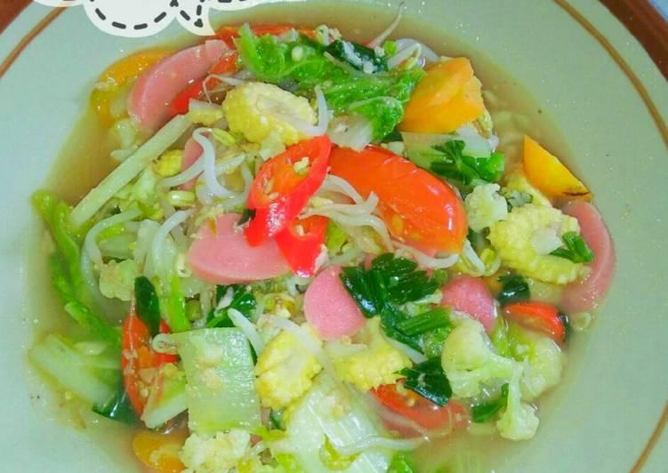 Sayuran Sehat~Capcay Kuah