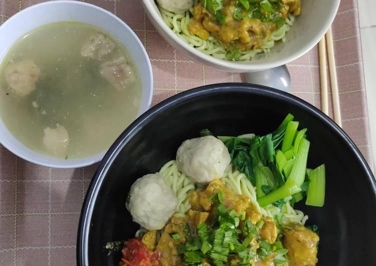 Resep Mi ayam homemade Yang Gampang Endes