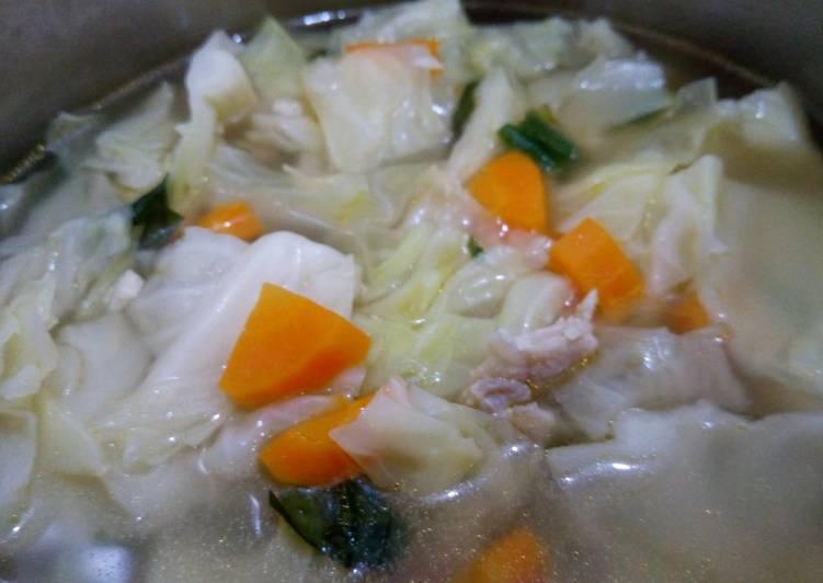 Resep Sop Sayur Ayam Bening Yang Gampang Lezat