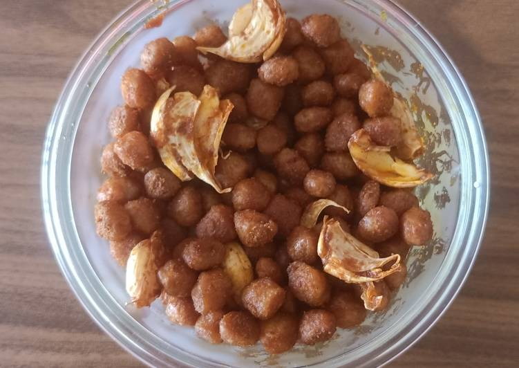 Garlicky soya fry