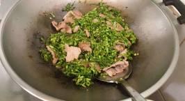 Hình ảnh món Thịt Heo Xào Hoa Thiên Lý