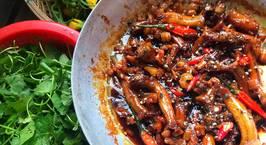 Hình ảnh món Bông mướp xào tỏi Cá bống dừa kho tiêu với tép mỡ
