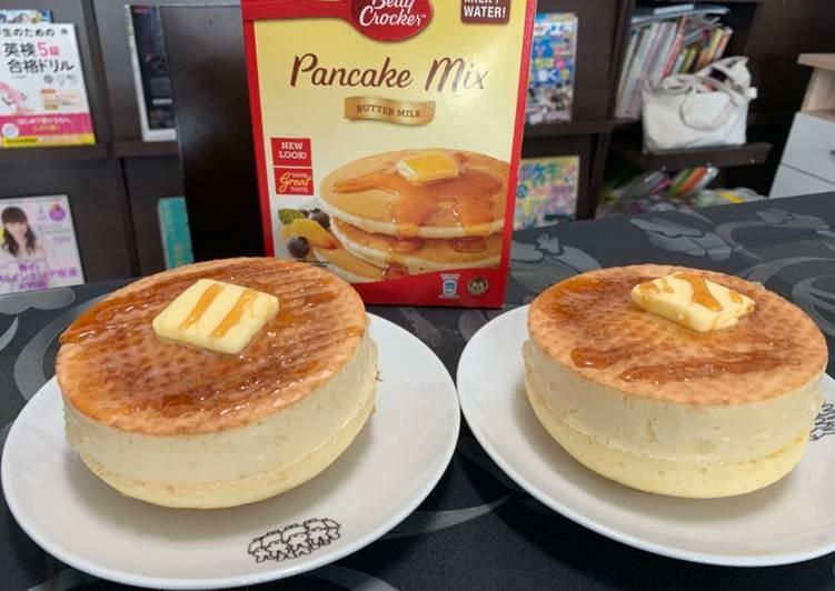 Recipe of Ultimate Thick Pancake